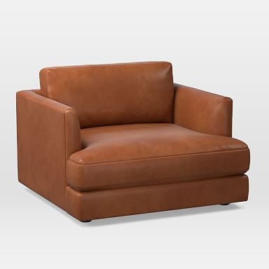 Haven Leather Chair and a Half