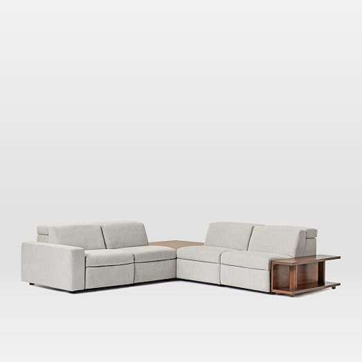 enzo reclining 4 seater sectional with