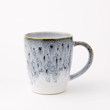 Reactive Stoneware Mugs