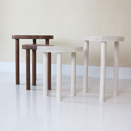 Küdd Krig Home Joon Nesting Tables Walnut