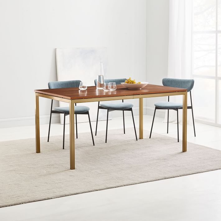 Frame Expandable Dining Table Walnut