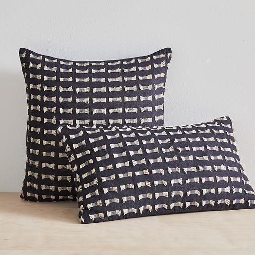 Cotton Silk Pixel Pillow Cover
