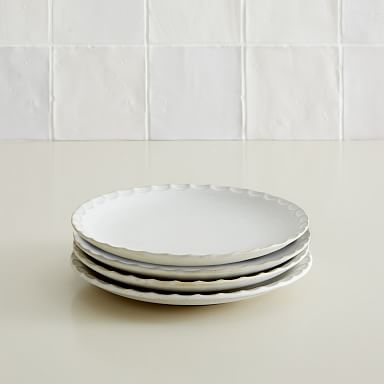 Curated Stoneware Salad Plates (Set of 4)