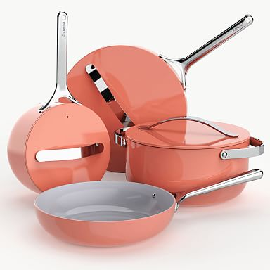 Caraway Non–Toxic Cookware & Storage Set - Perracotta