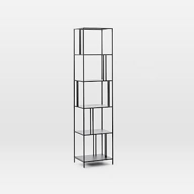 Profile Narrow Bookcase