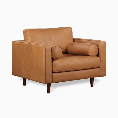 Dennes Leather Chair