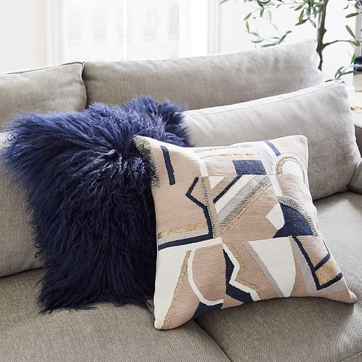 Embellished Deco Mix Pillow Cover