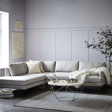 Andes 2-Piece Terminal Chaise Sectional