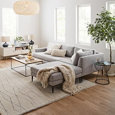 Andes 3-Piece Chaise Sectional