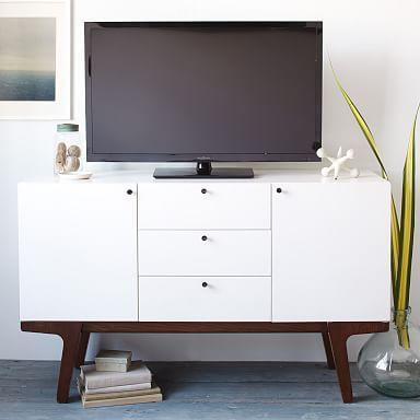 "Modern Media Console (53"") - White"