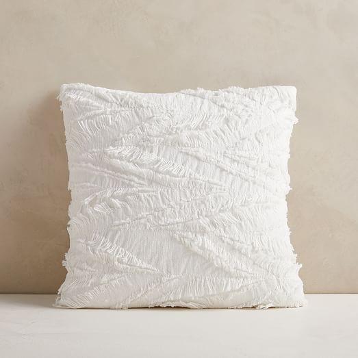 Cotton Eyelash Pillow Cover