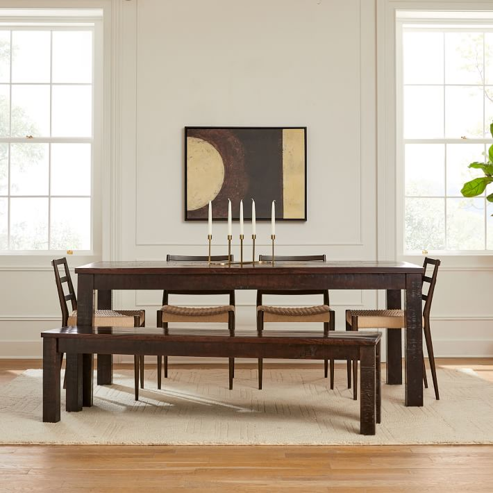 Whistler Dining Table Tobacco Brown