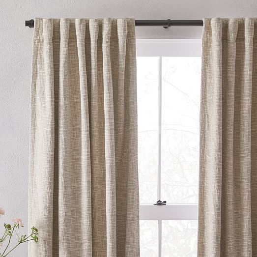 Custom Curtains Valance Roman Shade in Ivory  Light Gray  Lilac in Texture Solid Pattern Fabric