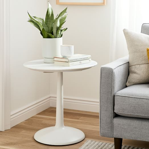 Liv Side Table White Marble