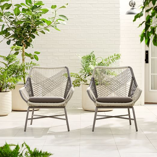 Huron Outdoor Lounge Chair Cushion, West Elm Outdoor Furniture