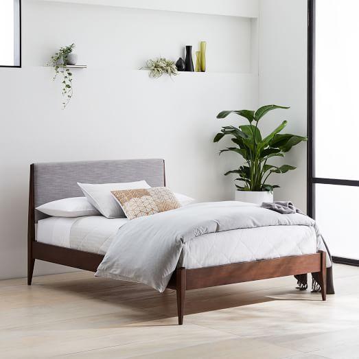 Modern Show Wood Bed, West Elm Bedroom Furniture