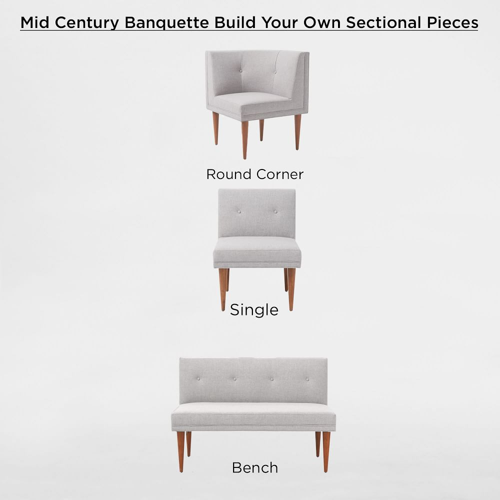 Build Your Own Mid Century Banquette