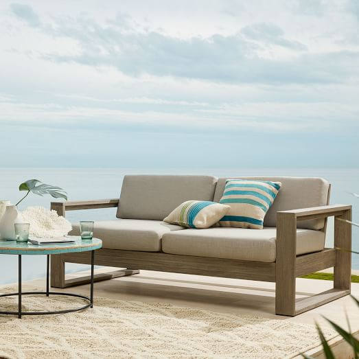 Portside Outdoor Sofa 75, West Elm Outdoor Furniture