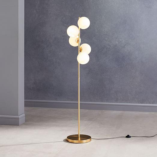 Staggered Gl 5 Light Floor Lamp