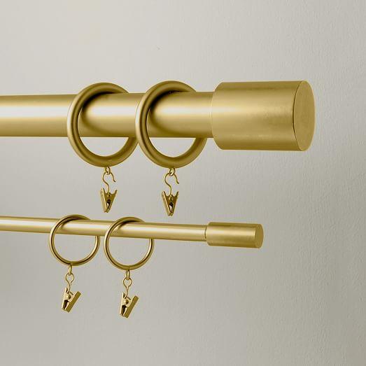 round metal curtain rings
