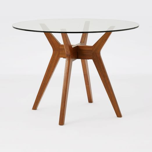 Small Round Glass Dining Table And 2, Dining Table Glass Round