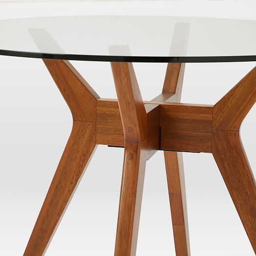Jensen Round Dining Table, 60 Round Glass Dining Room Table