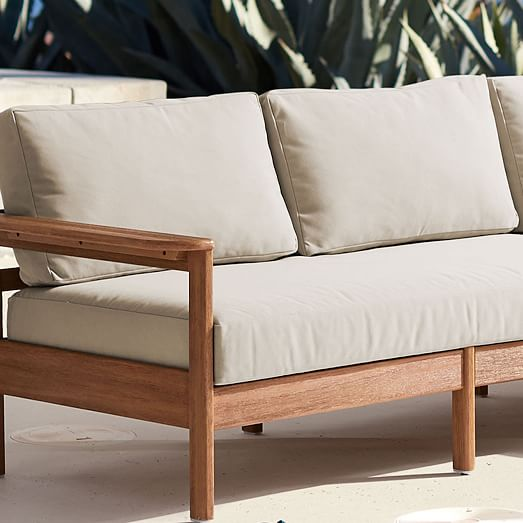 Playa Living Collection Outdoor Cushion, Patio Furniture Cushion Covers