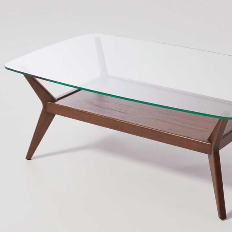 Jensen Coffee Table - Glass