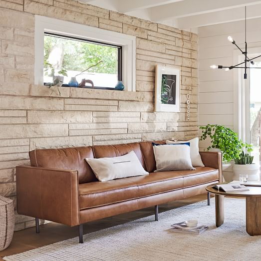 Axel Leather Sofa, Leather Furniture For Living Room