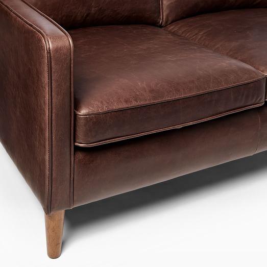 Hamilton Leather Sofa, Leather Furniture Company Portland Oregon