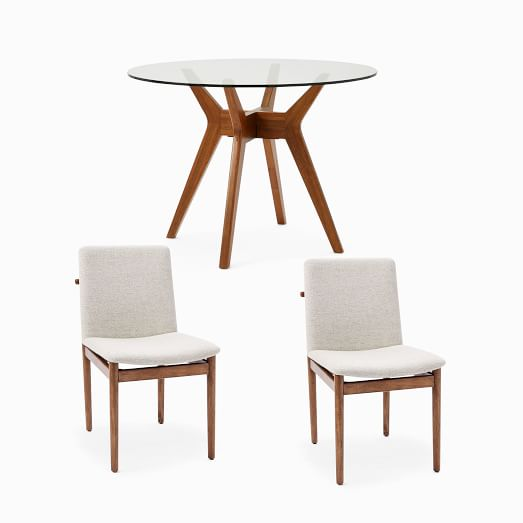Jensen Round Dining Table 2 Framework, Round Dining Table Sets
