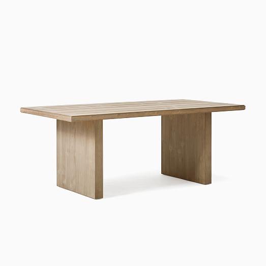 Santa Rosa Plank Dining Table, Round Table In Santa Rosa