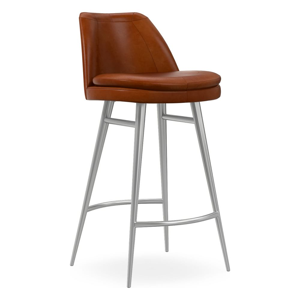 Finley Vegan Leather Counter Stool