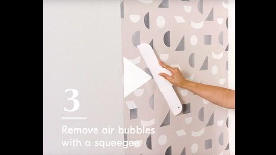 A Quick Way To Put Up Wallpaper