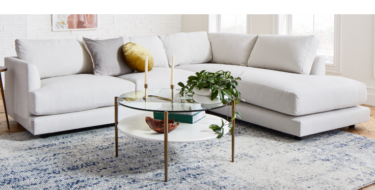 Build Your Own Sectional Haven Upholstered Collection  west elm