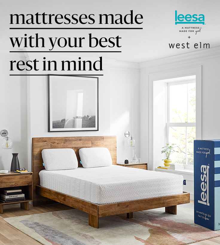 Leesa American Made Mattresses West Elm