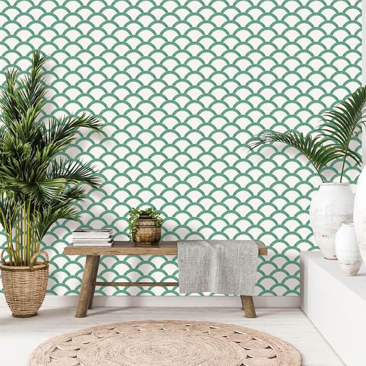 Modern Mosaic Removable Wallpaper