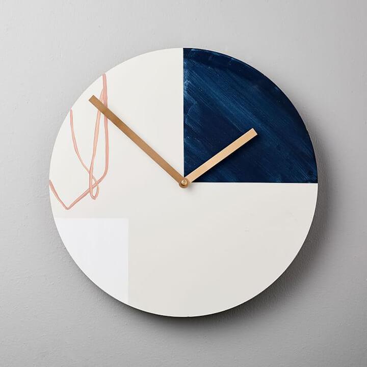 Modern Wall Clock for Entryway