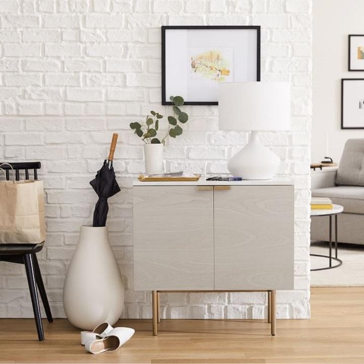 Small Entryway Ideas - Entryway Cabinet