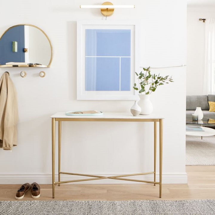 Small Entryway Ideas - Console Table