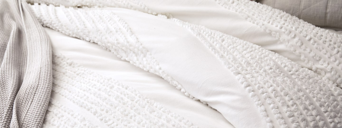 organic textured cotton collection