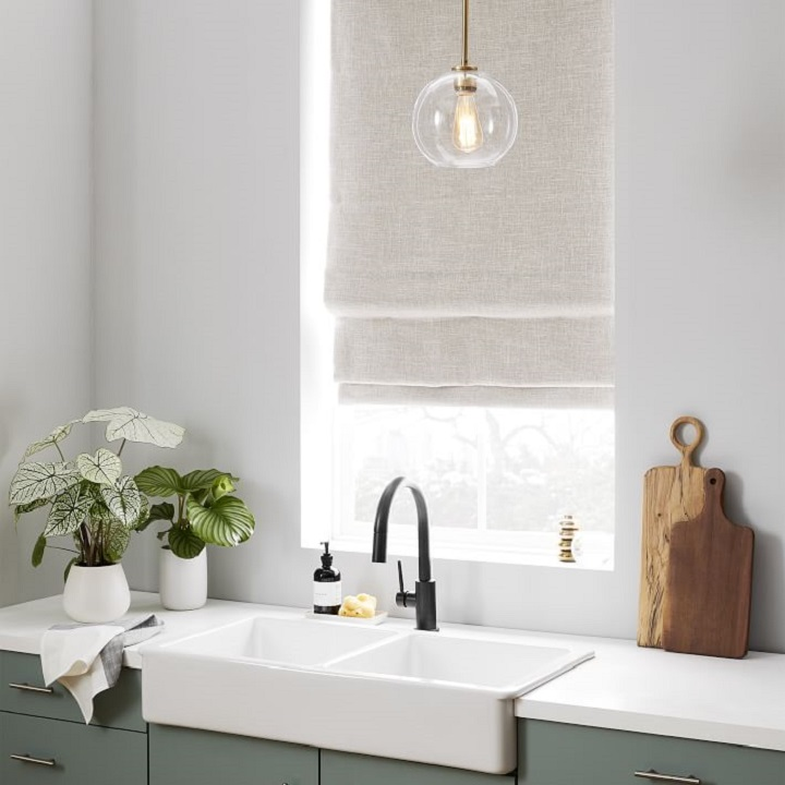 Window Treatment Ideas - Roman Shades