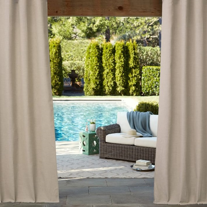 Sunbrella Indoor Outdoor Curtains