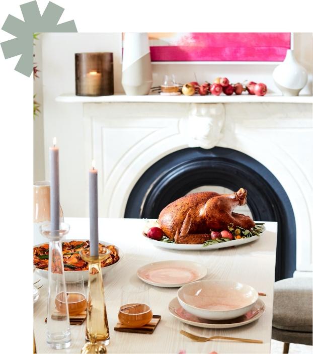 festive dinnerware looks