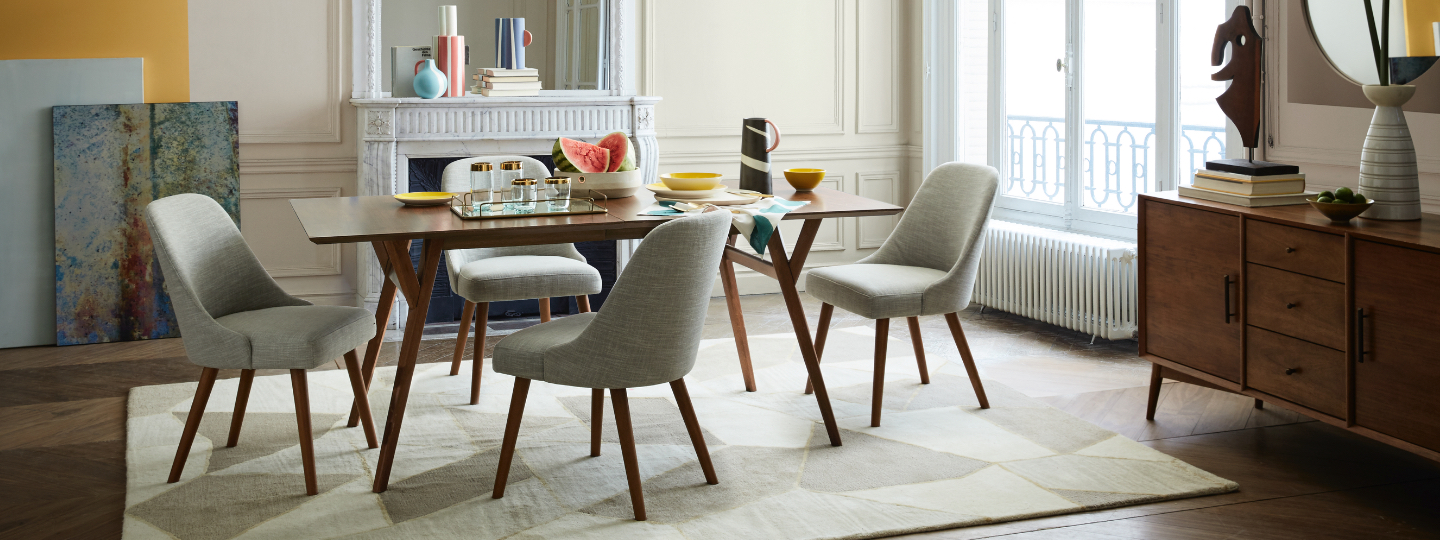 mid-century dining collection