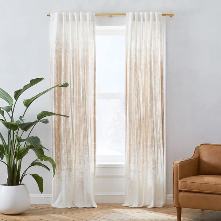 Window Treatment Ideas - Cotton Curtains