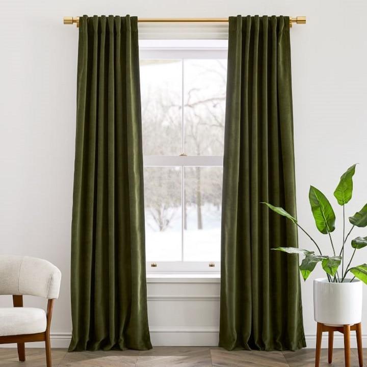 Window Treatment Ideas - Velvet Curtains