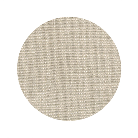 Yarn Dyed Linen Weave - Natural