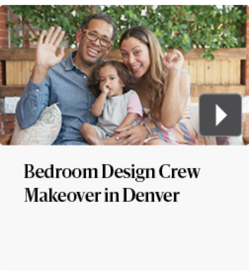 Bedroom Design Crew makeover in Denver
