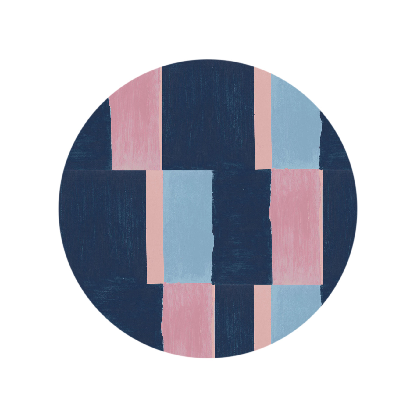 Colorblock - Pink Blue Multi
